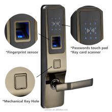 Digital Biometric Fingerprint Door Lock Touch Keypad Door Lock