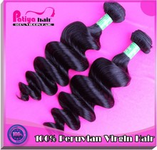 loose wave peruvian hair 100% unprocessed remy original cheap price for peruvian hair