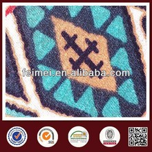 2015 new color reactive cost of denim fabric in China knit manufacture