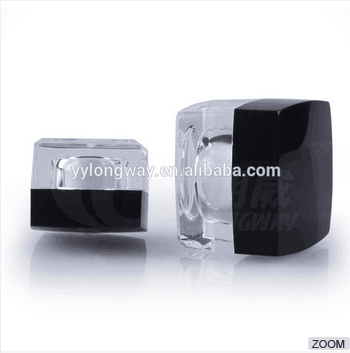 10ml Acrylic Finish Cosmetic Sample Jar 5g/10g Mini Jar for Daily Use