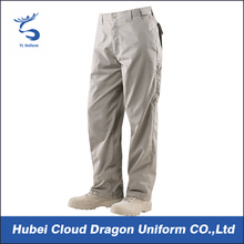 Superior comfort beige color tactical wholesale cargo pants for men