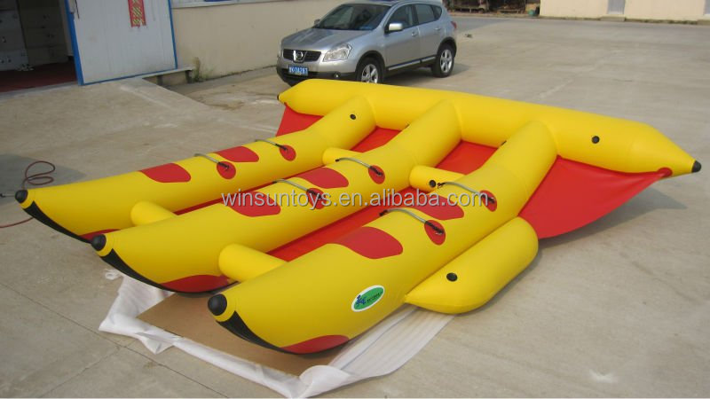 Low price,Comercial quality Inflatable water game product ,Inflatable canoe for sale
