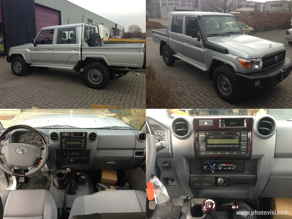 NEW TOYOTA LAND CRUISER PICKUP HZJ79 4x4 DOBLE CABINEAWD