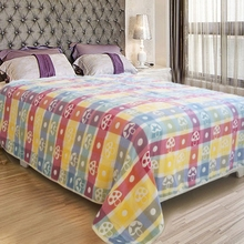 32/2s high quality customized 100% cotton terry blanket wholesale in China for baby sleeping