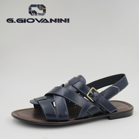 Summer high quality HIGH-END genuine leather sandal