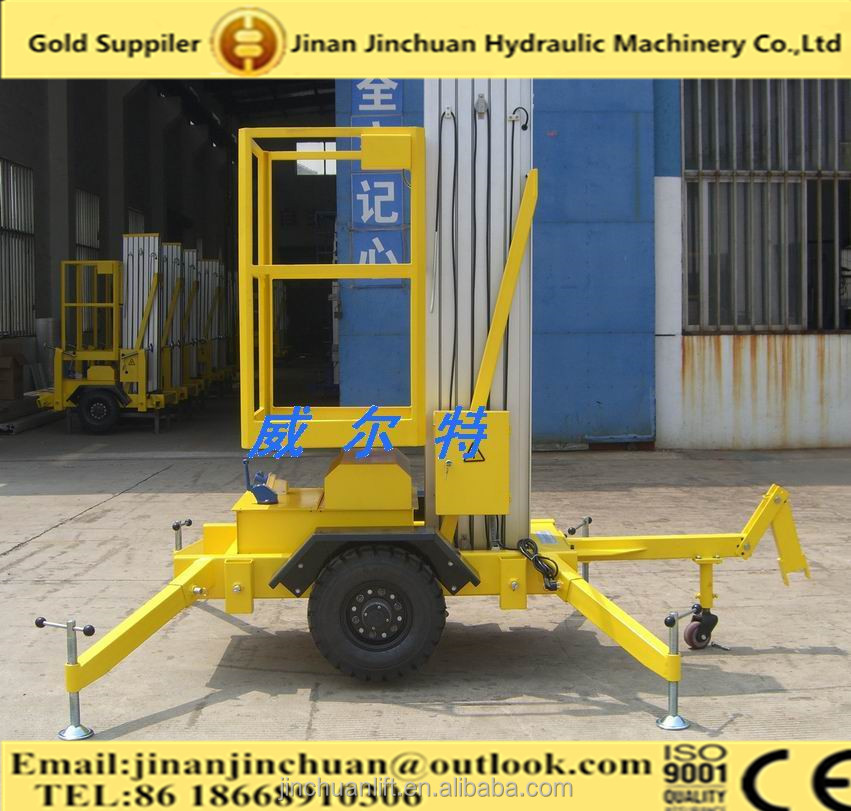 1~10m, truck mounted aerial work platform /elevated work platform /folding work platform