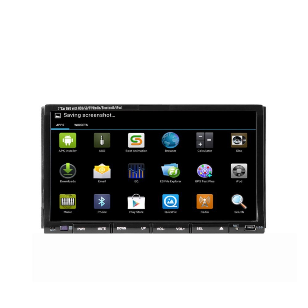 7inch android system car dvd player 3G/WIFIBluetooth Built-in GPS,CD Player,MP3 / MP4 for universal cars