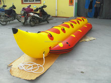 PVC Inflatable air kayak raft canoe for beach Sea Ocean river boat/bananaBoat raft