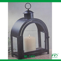 Arched Metal lantern for home and garden decoration