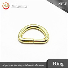26mm D Ring Metal Oval Welded Loop Rings For Purse,Bag Straps