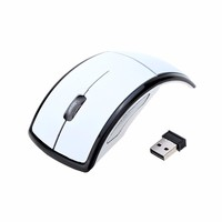 Best Gift Option ARC Foldable 2.4G Wireless Mouse Optical