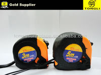 Promotional Rubber covered steel measuring tape,one dollar shop item ,all kind od tape