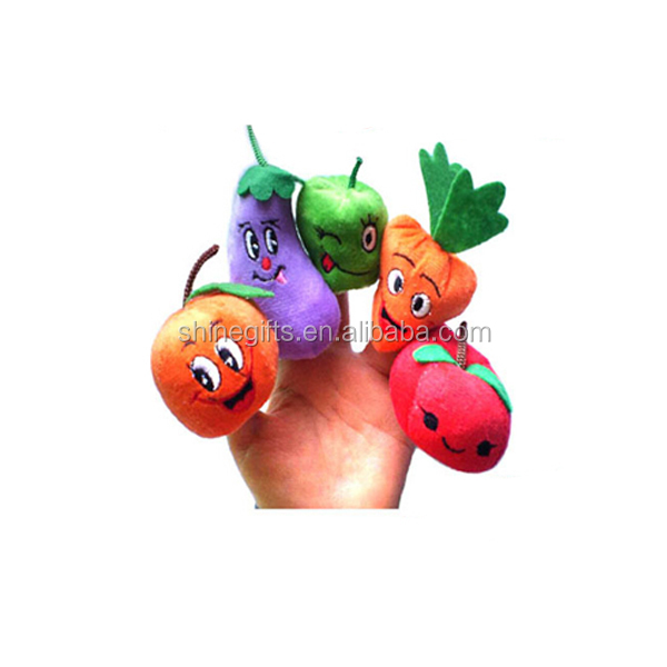 lovely vegetables hand puppets for kids