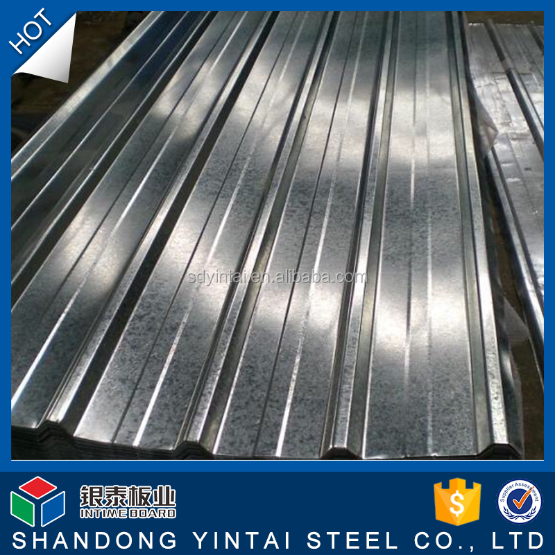 Light weight sheet roofing materials Corrugated steel plate
