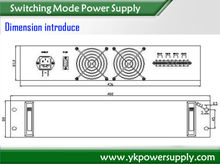 high frequency 48V SMPS switch mode power supply