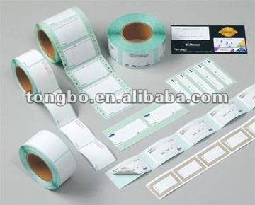 thermal transfer blank roll paper label