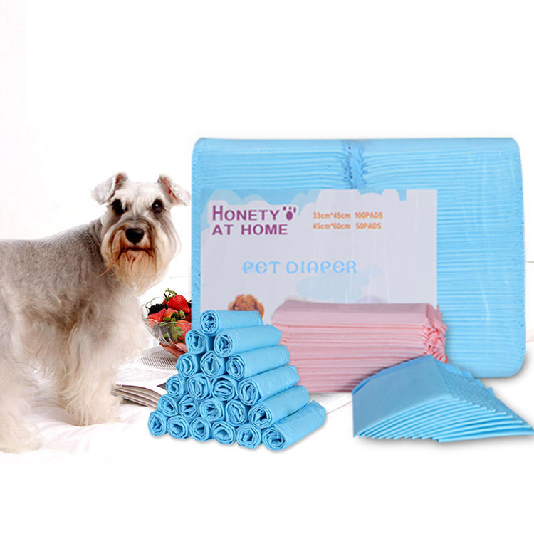 Pet Puppy Pad Super Absorbent Leak-proof Dogs Pee Training Pad 33*45cm
