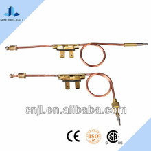 Gas valve thermocouple for kitchen