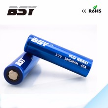 3000mAh 18650 rechargealbe battery 1.2v li-ion rechargeable batteries