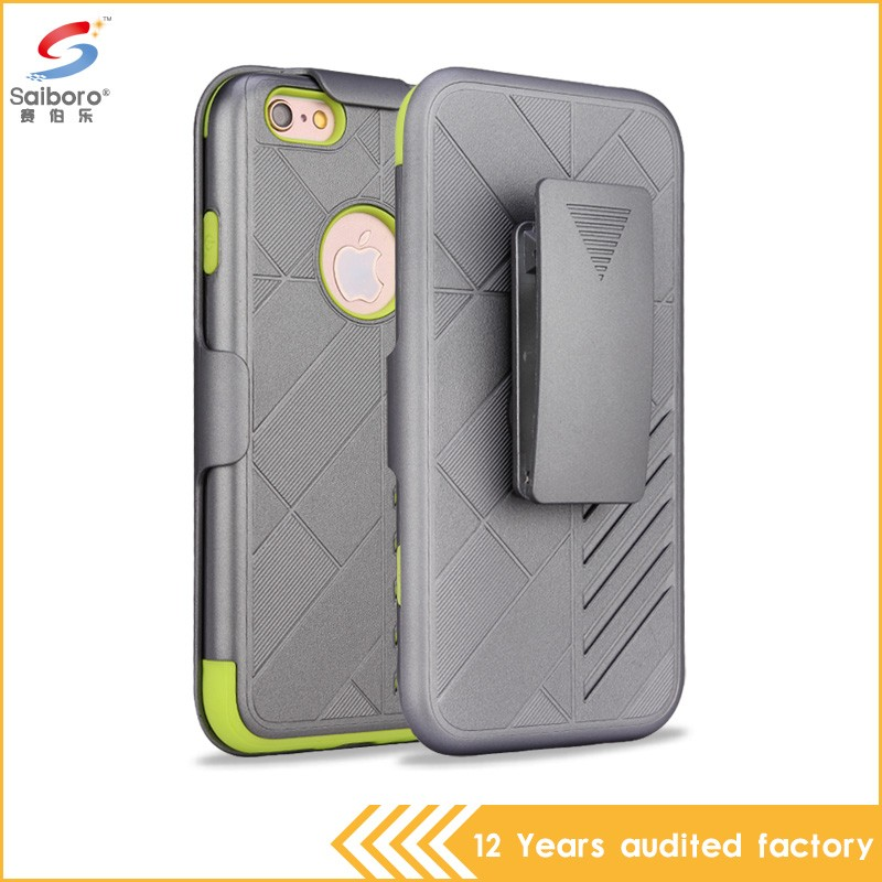 For iphone 5 6 7 7plus top quality belt clip phone case