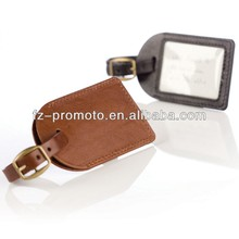 High-resolution Photo Leather Luggage Tag