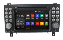 MP3 MP5 player touch screen Android 4.4 Car Audio for Mercedes SLK200, SLK280, SLK350, SLK55 GPS Navigation Hot selling