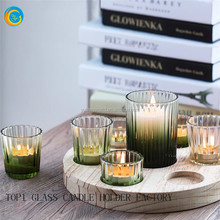 unique glass candle containers glass candle sleeves
