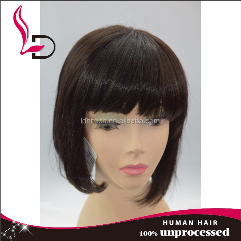 Best selling stock hair wig making machine human hair topper wig natural hair wig