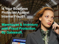 WAREHOUSE AND INVENTORY MANAGEMENT WITH FRAUD PROTECTION. By Gatessoft.