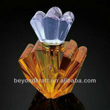 lotus colorful crystal perfume bottle