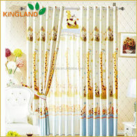 Blackout Printed Cafe Curtains For Kitchen/Home/Hotel