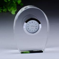 office gift crystal table clock decoration clock