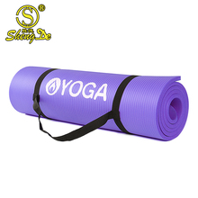 Wholesale extra thick custom printed 10mm yoga foam exercise mat