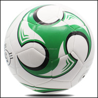 low price promotional soccer balls/rubber football size 4