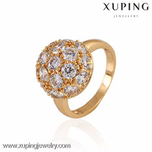 10953-African Design Luxury Gold Rings For Women