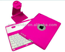 OEM ABS Detachable Wireless Bluetooth Keyboard for iPad2/3/4