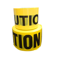 None-adhesive Police Caution Tape for Safety Warning
