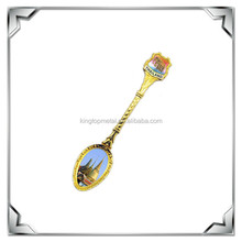 custom metal spoon for baby souvenirs