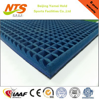 Easy installation rubber sport flooring for indoor playground