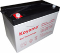 Solar Gel Battery 12V 90Ah Suitable For Hard Environments
