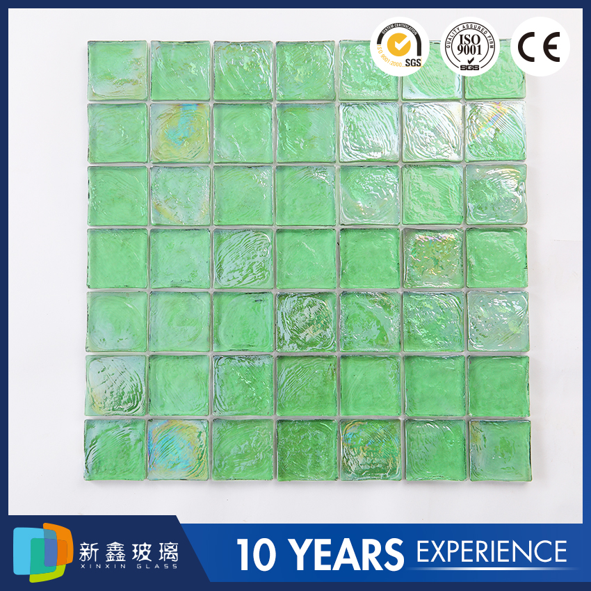 low price crystal glass mosaic tile for hotel furniture