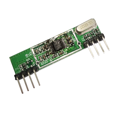 Universial Wireless Control Receiver modules with decoding