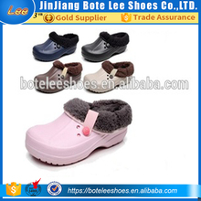 2017 new winter clogs furling shoes indoor eva slippers