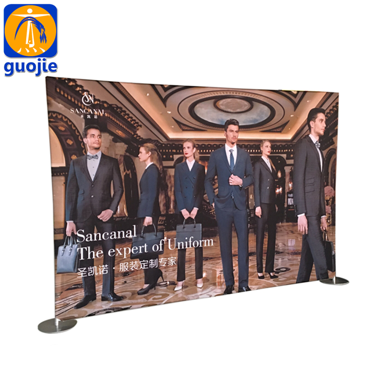Exhibition Booth Trade Show Display Stand, Pop Up Display Backdrop Wall