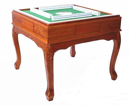 Wooden Automatic mahjong table