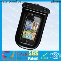 Factory wholesale price waterproof armband mobile phone bag for htc one v cover