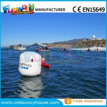 Race course inflatable water buoy inflatable marker buoy for sale