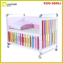 China supplier aluminum round crib bedding/baby crib decorations/cribs for babies