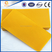 Chinese bee products---Beeswax foundation sheet with high quality and competitive price