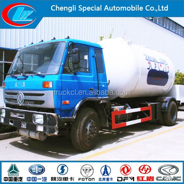 ASME New Design 10cbm lpg bobtail tank truck with pump